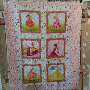 """Handmade Quilt """"Flower Garden Ladies"""""""